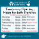 UPDATE: Opening Hours effective April 14th
